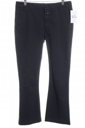 Closed Chinohose schwarz Casual-Look