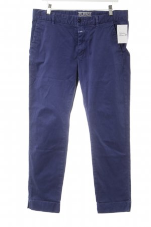 Closed Chinohose stahlblau Casual-Look