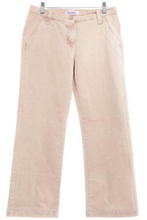 Closed Pantalone di velluto a coste beige stile casual