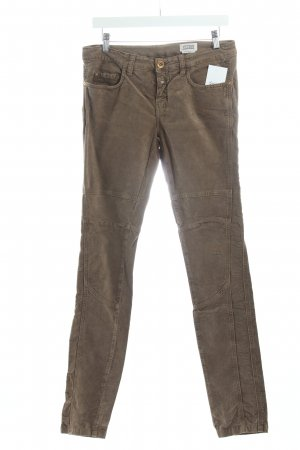 Closed Cordhose Braun