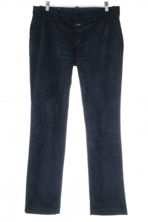 Closed Cordhose dunkelblau Casual-Look