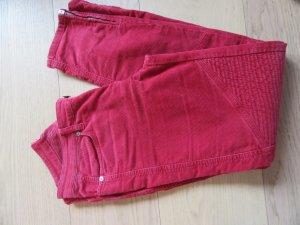 Closed Pantalón de pana rojo oscuro