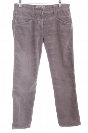 Closed Corduroy Trousers grey brown casual look