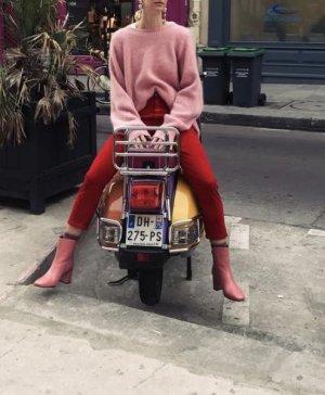 CLOSED Cordhose Rot Pedal Pusher Kord 34 Jeans Skinny