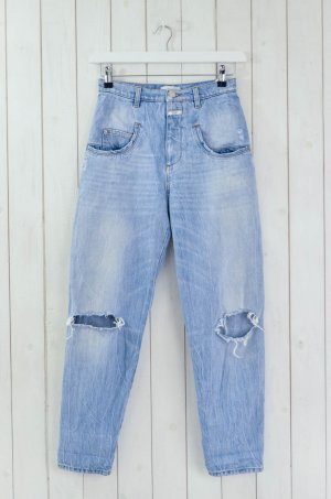 CLOSED Damen Jeans Boyfriend Denim Mod.PEDAL DRUM 85 Hellblau Vintage Gr.26