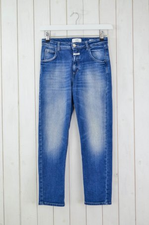 CLOSED Damen Jeans Denim Mod HEARTBREAKER Blau Used Baumwolle Elastan Gr.25
