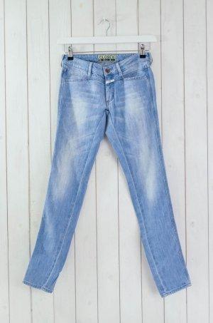 CLOSED Damen Jeans Denim Mod.PEDAL STAR Hellblau Baumwolle Polyester Gr.26