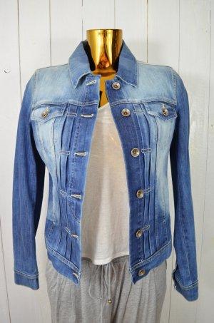 CLOSED Damen Jeansjacke Jacke Denim Baumwolle Elastan Blau Vintage Look Gr.S Neu