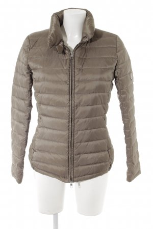 Closed Down Jacket light brown simple style