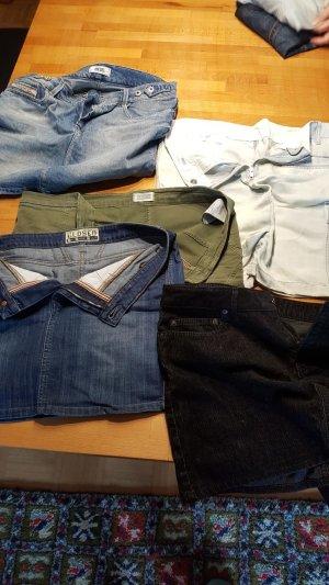 Closed Gonna di jeans multicolore