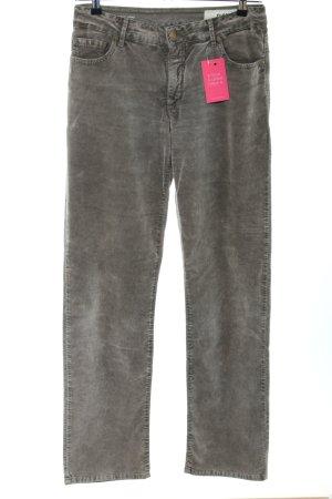 Closed Five-Pocket-Hose khaki Farbverlauf Casual-Look