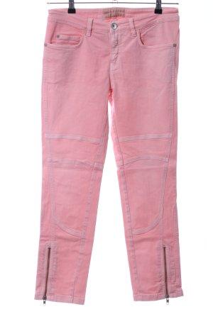Closed Pantalon cinq poches rose style décontracté