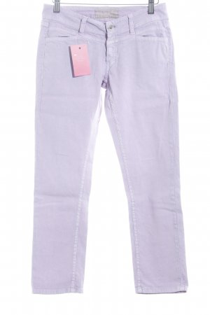 Closed Five-Pocket-Hose blasslila Retro-Look