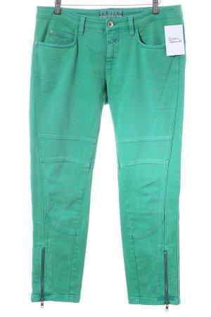Closed Pantalone cinque tasche verde chiaro stile casual