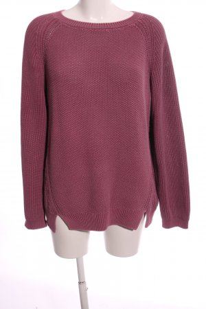 Closed Grobstrickpullover pink Casual-Look