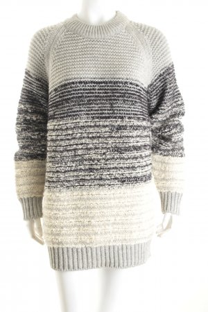 Closed Coarse Knitted Sweater multicolored mixture fibre