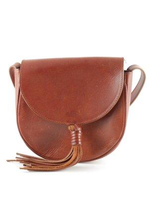 Closed Handtasche braun klassischer Stil