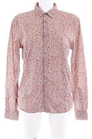 Closed Hemd-Bluse beige-rot Blumenmuster