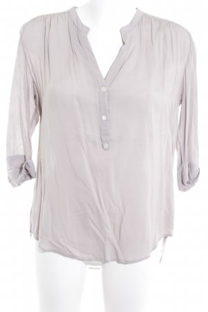 Closed Hemd-Bluse hellgrau Casual-Look