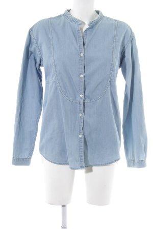 Closed Hemd-Bluse himmelblau Casual-Look