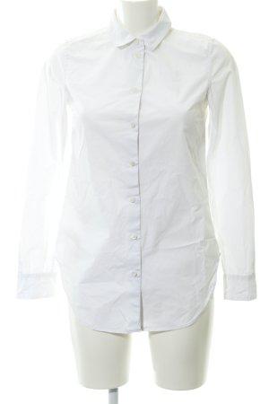 Closed Blusa-camisa blanco estilo «business»