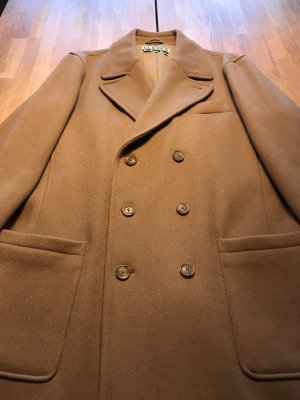 Closed Wool Coat sand brown