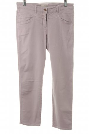 Closed High Waist Trousers dusky pink casual look