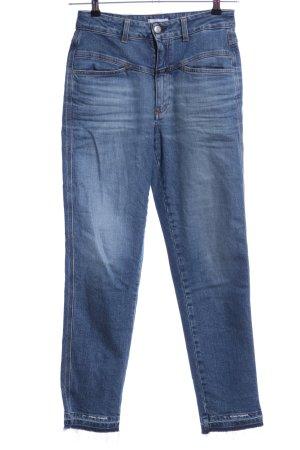 Closed High Waist Jeans blau Casual-Look