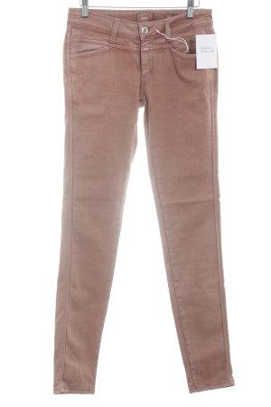 Closed Jeans a vita alta albicocca stile casual