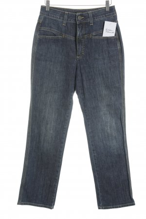 Closed High Waist Jeans blau meliert Street-Fashion-Look