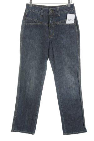 Closed High Waist Jeans blue flecked street-fashion look