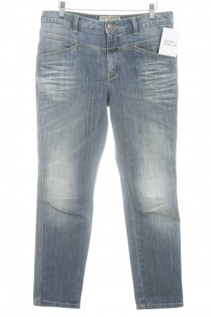 Closed High Waist Jeans blau Street-Fashion-Look