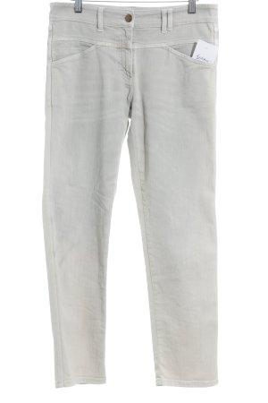 Closed High Waist Jeans hellbeige Street-Fashion-Look