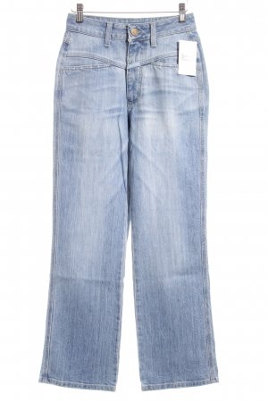 Closed High Waist Jeans hellblau meliert Jeans-Optik