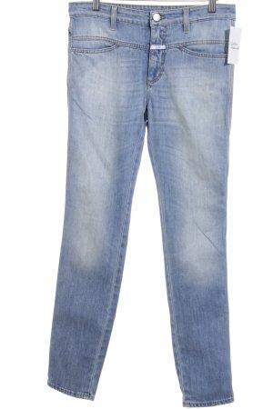 Closed High Waist Jeans hellblau Street-Fashion-Look
