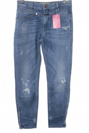 Closed High Waist Jeans kornblumenblau Casual-Look