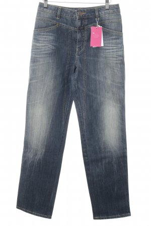 Closed High Waist Jeans stahlblau Casual-Look