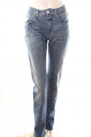 Closed High-Waist Mom-Jeans
