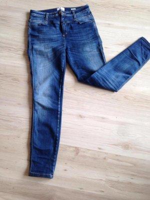 CLOSED | high weist | Blaue Jeans | Größe 28 | skinny Pusher 1520
