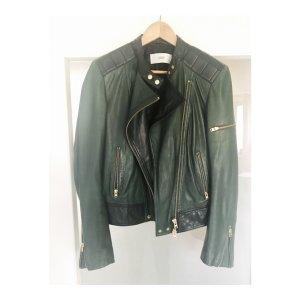CLOSED - hochwertige Lammleder Biker Lederjacke, sehr selten getragen!