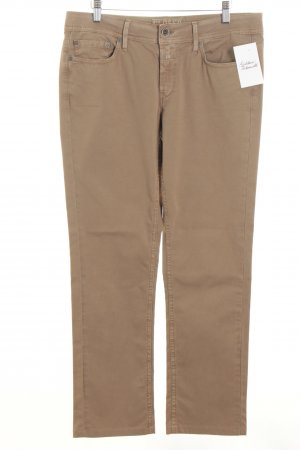 Closed Hose beige Casual-Look
