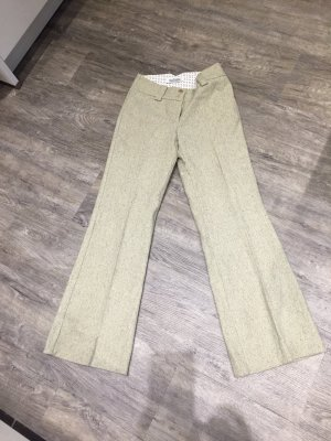 Closed Pleated Trousers sage green-green grey