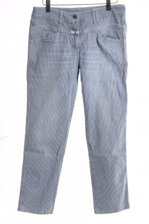 Closed Low Rise Jeans blue-white striped pattern casual look