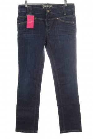 Closed Low Rise jeans donkerblauw casual uitstraling