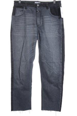 Closed Hüftjeans schwarz-anthrazit Farbverlauf Jeans-Optik