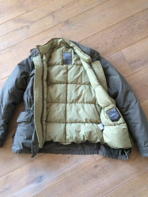 Closed Jacke 2-in-1, Khaki und hellgrün, Gr. M