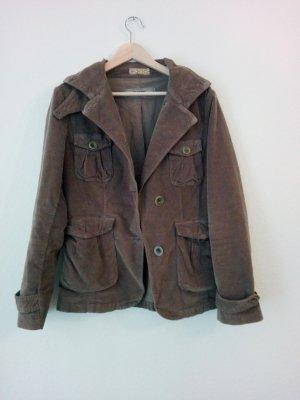 Closed Jacket grey brown