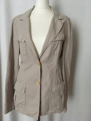 Closed Safari Jacket oatmeal linen