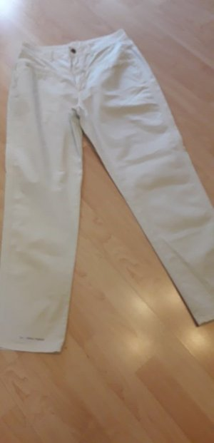 Closed Pantalon boyfriend vert menthe coton