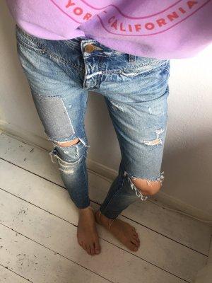 Closed 7/8-jeans lichtblauw